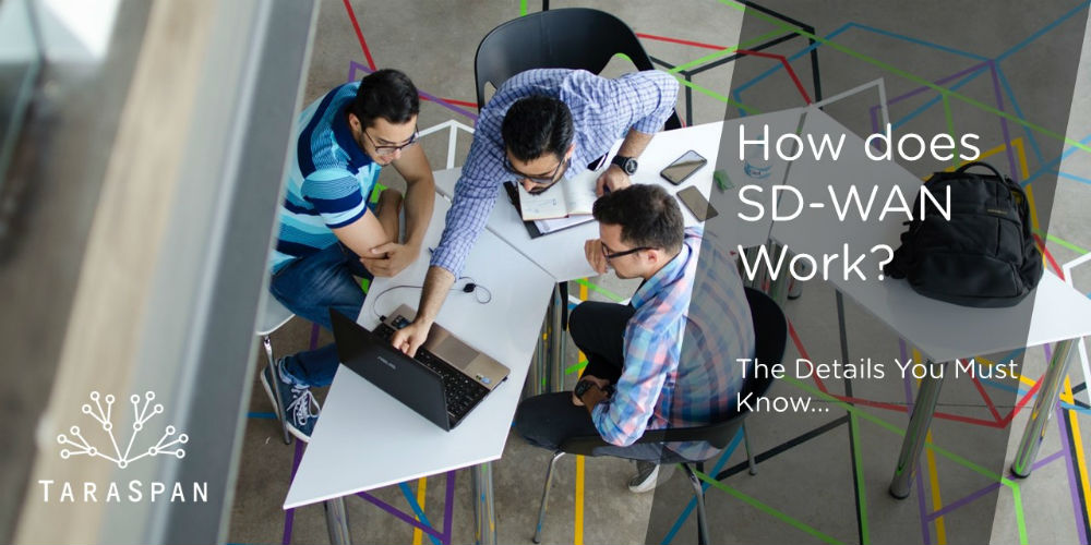 how does sd-wan work